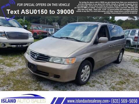 2004 Honda Odyssey for sale at Island Auto Sales in E.Patchogue NY