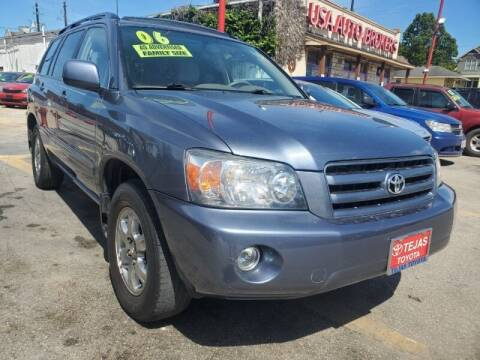 2006 Toyota Highlander for sale at USA Auto Brokers in Houston TX