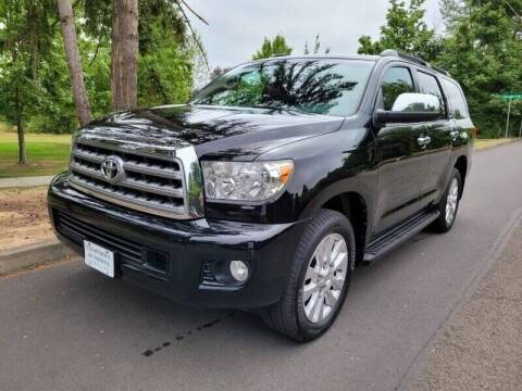 2011 Toyota Sequoia for sale at CLEAR CHOICE AUTOMOTIVE in Milwaukie OR