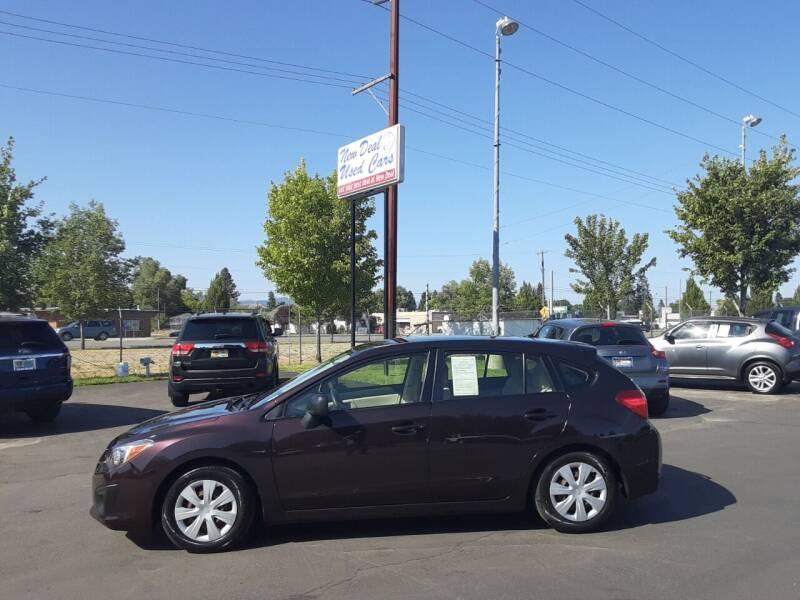 2013 Subaru Impreza for sale at New Deal Used Cars in Spokane Valley WA