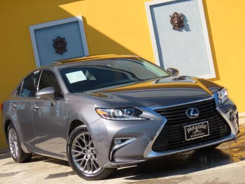 2018 Lexus ES 350 for sale at Paradise Motor Sports LLC in Lexington KY