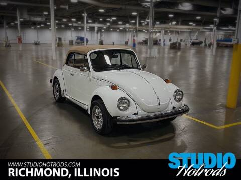 1979 Volkswagen Beetle Convertible for sale at Studio Hotrods in Richmond IL