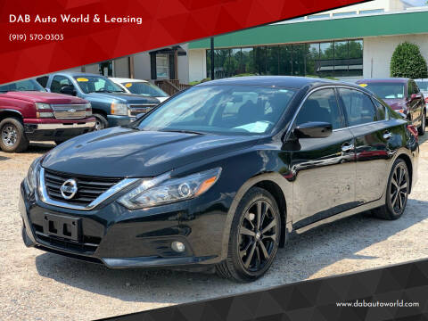 2017 Nissan Altima for sale at DAB Auto World & Leasing in Wake Forest NC