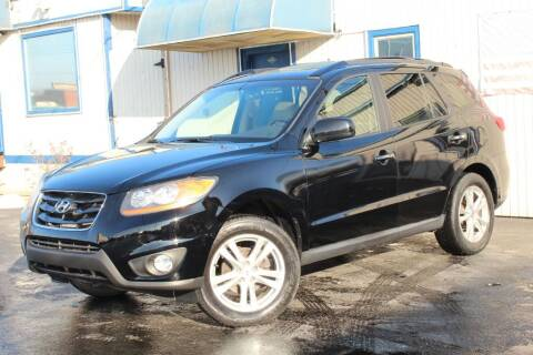 2011 Hyundai Santa Fe for sale at Dynamics Auto Sale in Highland IN