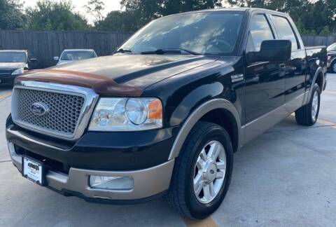2004 Ford F-150 for sale at DYNAMIC AUTO GROUP in Houston TX