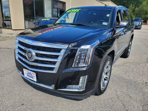 2015 Cadillac Escalade for sale at Auto Wholesalers Of Hooksett in Hooksett NH