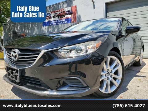 2014 Mazda MAZDA6 for sale at Italy Blue Auto Sales llc in Miami FL