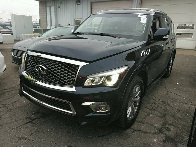 2016 Infiniti QX80 for sale at Coast to Coast Imports in Fishers IN