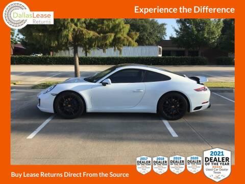 2019 Porsche 911 for sale at Dallas Auto Finance in Dallas TX