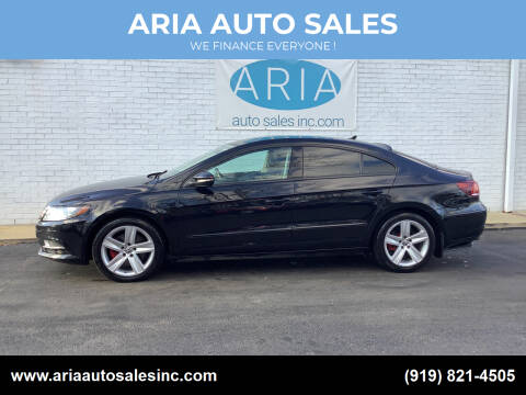 2015 Volkswagen CC for sale at ARIA  AUTO  SALES in Raleigh NC
