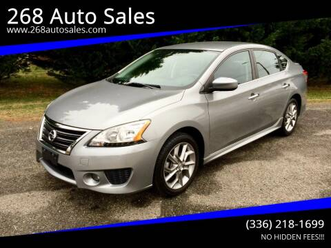 2014 Nissan Sentra for sale at 268 Auto Sales in Dobson NC