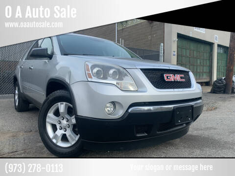 2011 GMC Acadia for sale at O A Auto Sale in Paterson NJ