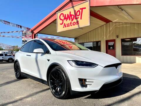 2018 Tesla Model X for sale at Sandlot Autos in Tyler TX