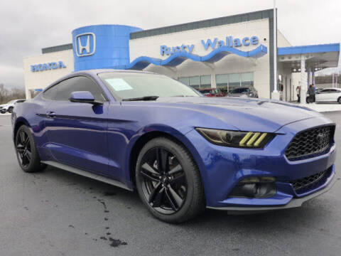 2016 Ford Mustang for sale at RUSTY WALLACE HONDA in Knoxville TN