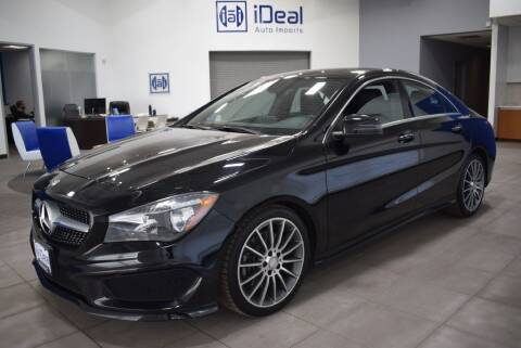 2016 Mercedes-Benz CLA for sale at iDeal Auto Imports in Eden Prairie MN