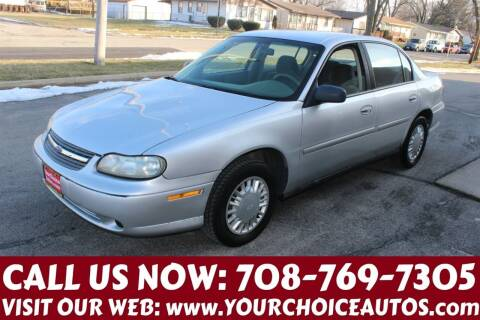 2003 Chevrolet Malibu for sale at Your Choice Autos in Posen IL