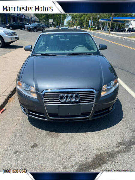 2008 Audi A4 for sale at Manchester Motors in Manchester CT