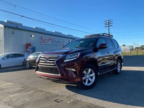 2016 Lexus GX 460 for sale at SUPER AUTO SALES STOCKTON in Stockton CA