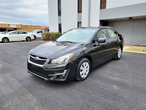 2016 Subaru Impreza for sale at Image Auto Sales in Dallas TX