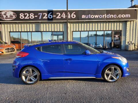 2014 Hyundai Veloster for sale at AutoWorld of Lenoir in Lenoir NC