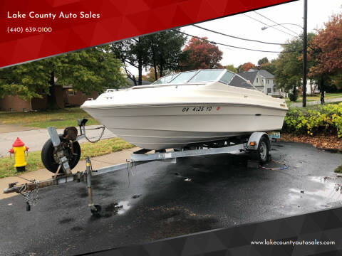 1984 Sea Ray SEVILLE for sale at Lake County Auto Sales in Painesville OH