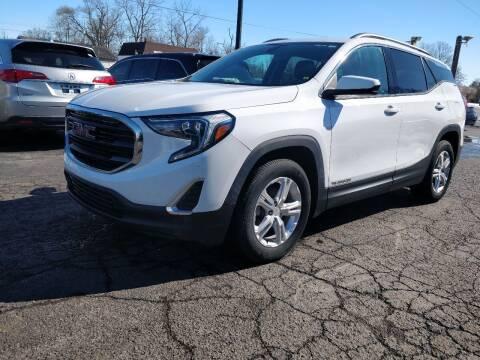 2018 GMC Terrain for sale at The Car Cove, LLC in Muncie IN