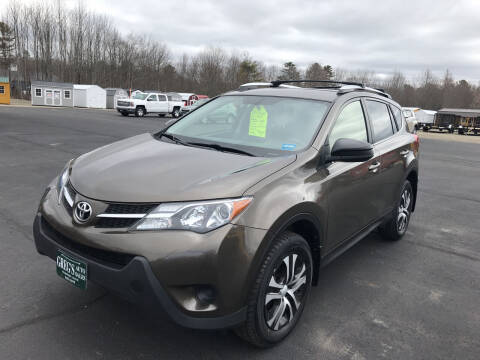 2015 Toyota RAV4 for sale at Greg's Auto Sales in Searsport ME