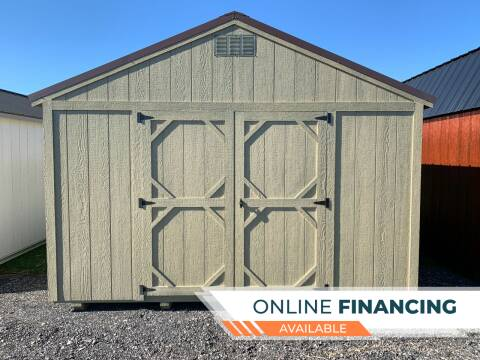2020 DOUBLE H BUILDINGS 12X16 UTILITY SHED for sale at ADELL AUTO CENTER in Waldo WI