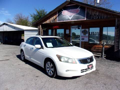 2009 Honda Accord for sale at LEE AUTO SALES in McAlester OK