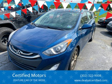 2014 Hyundai Elantra GT for sale at Certified Motors in Bear DE