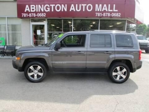 2016 Jeep Patriot for sale at Abington Auto Mall LLC in Abington MA