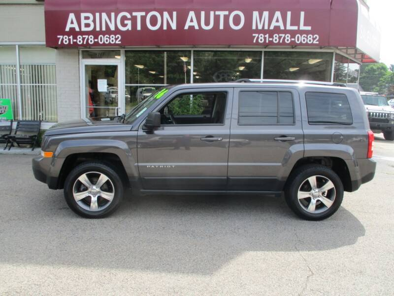 2016 Jeep Patriot for sale at Abington Auto Mall LLC in Abington MA