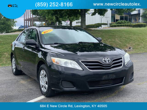 2011 Toyota Camry for sale at New Circle Auto Sales LLC in Lexington KY