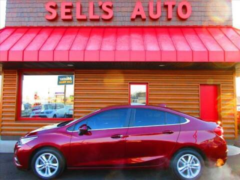 2016 Chevrolet Cruze for sale at Sells Auto INC in Saint Cloud MN