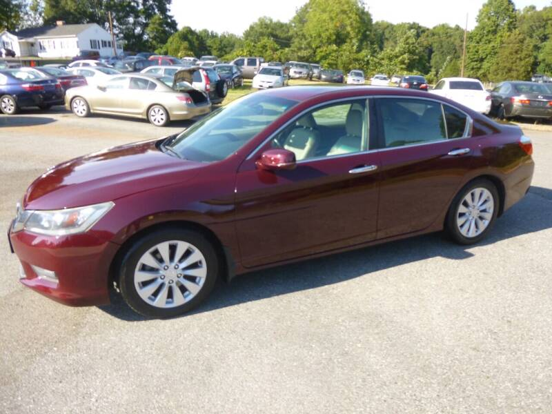 2014 Honda Accord for sale at Ed Steibel Imports in Shelby NC