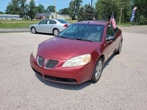 2008 Pontiac G6 for sale at Patriot Autos in Muskegon MI