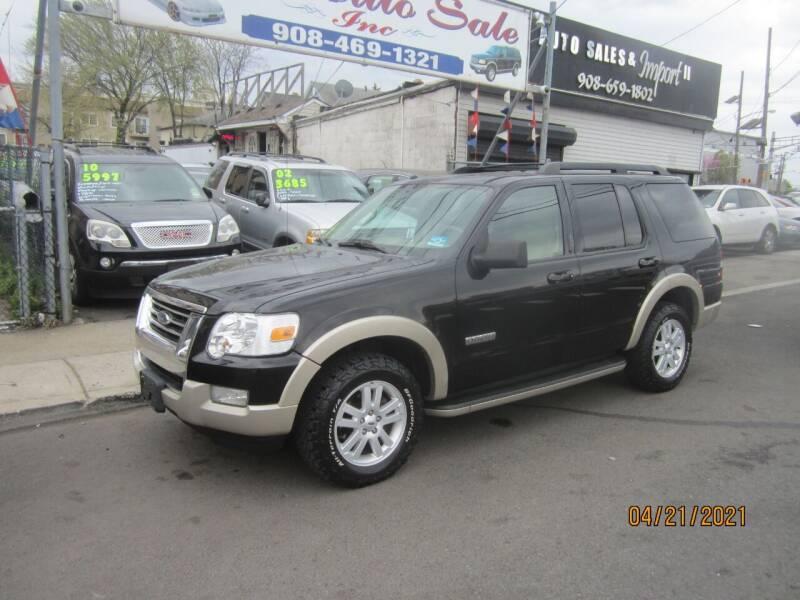 2008 Ford Explorer for sale at Cali Auto Sales Inc. in Elizabeth NJ