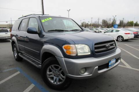2003 Toyota Sequoia for sale at Choice Auto & Truck in Sacramento CA