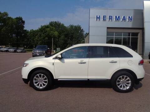 2013 Lincoln MKX for sale at Herman Motors in Luverne MN