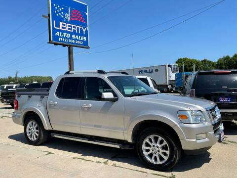 2007 Ford Explorer Sport Trac for sale at Liberty Auto Sales in Merrill IA