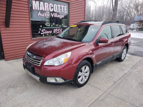2011 Subaru Outback for sale at Marcotte & Sons Auto Village in North Ferrisburgh VT