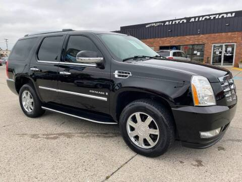 2007 Cadillac Escalade for sale at Motor City Auto Auction in Fraser MI
