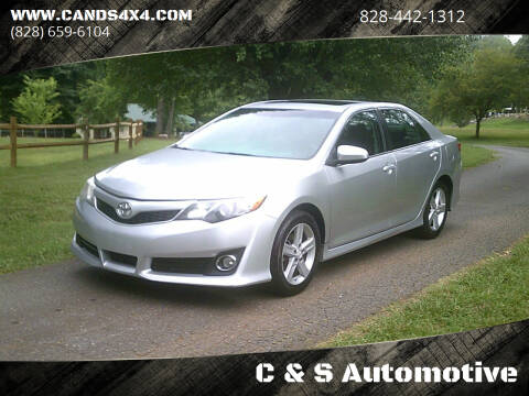 2012 Toyota Camry for sale at C & S Automotive in Nebo NC