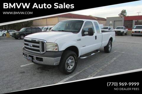 2006 Ford F-250 Super Duty for sale at BMVW Auto Sales - Trucks and Vans in Union City GA