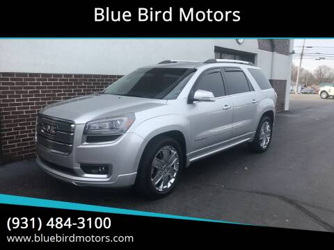 2013 GMC Acadia for sale at Blue Bird Motors in Crossville TN