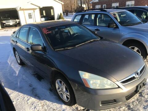 2006 Honda Accord for sale at RJD Enterprize Auto Sales in Scotia NY