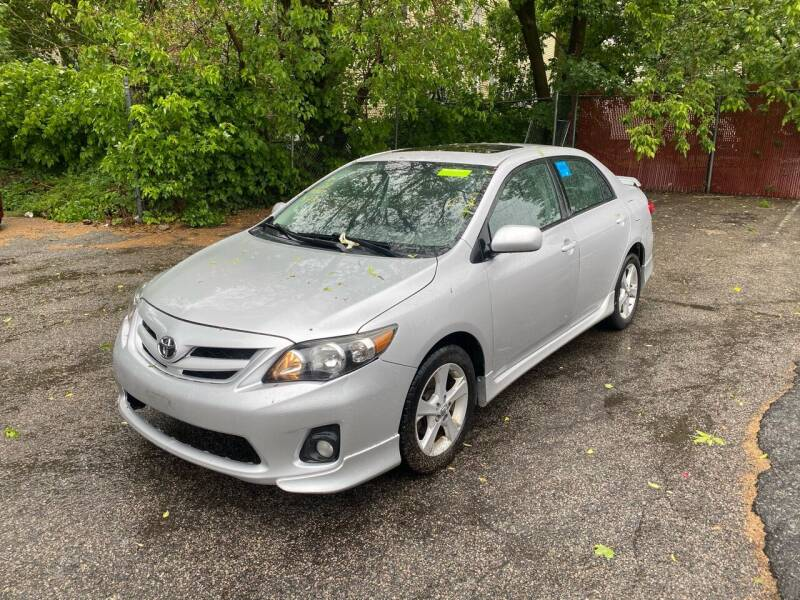 2012 Toyota Corolla for sale at Polonia Auto Sales and Service in Hyde Park MA