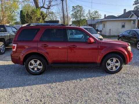 2010 Ford Escape for sale at MIKE'S CYCLE & AUTO in Connersville IN