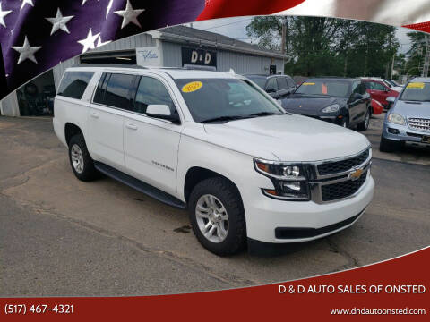 2019 Chevrolet Suburban for sale at D & D Auto Sales Of Onsted in Onsted MI