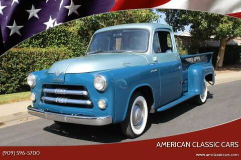 1955 Dodge C-1 Series Pickup for sale at American Classic Cars in La Verne CA